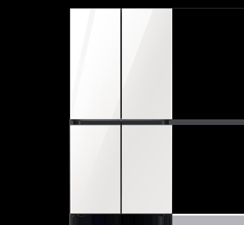 מקרר 4 דלתות Bespoke מותאם למטבח קו אפס, דגם WH/RF70T9113