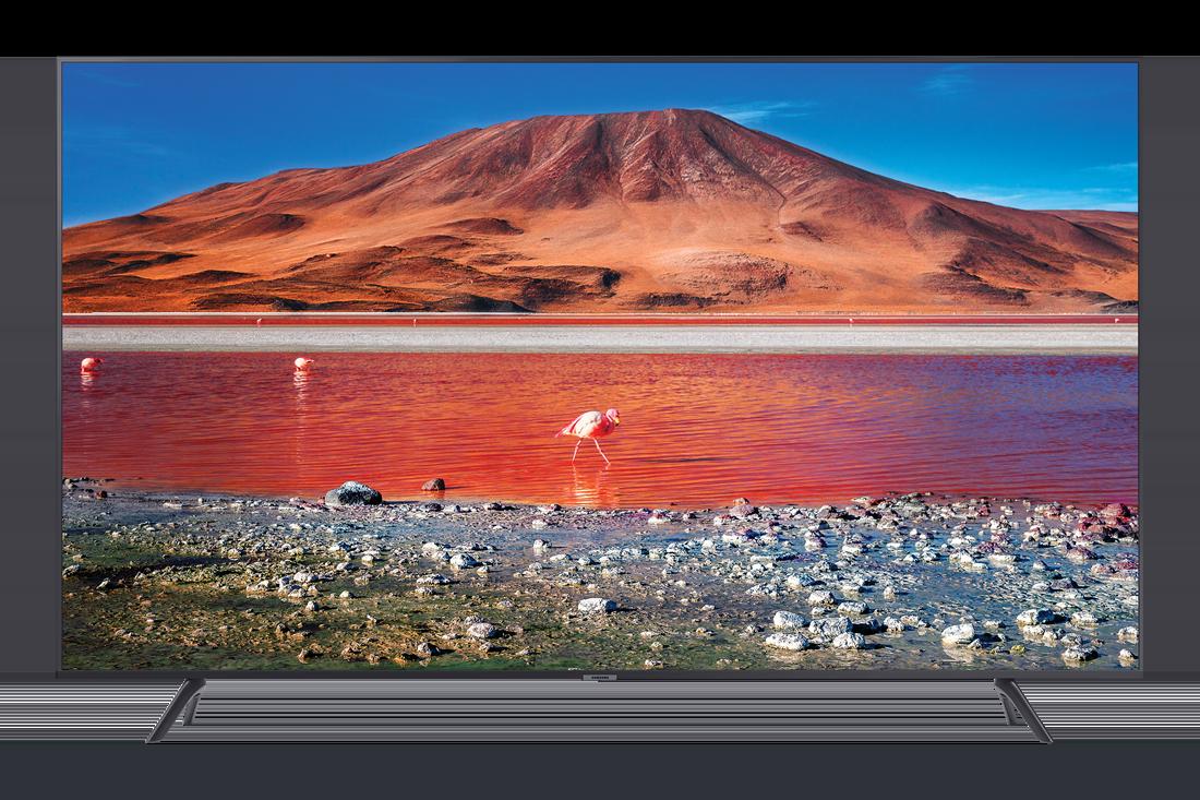 מסך סמסונג Crystal UHD 4K TV 58TU7100
