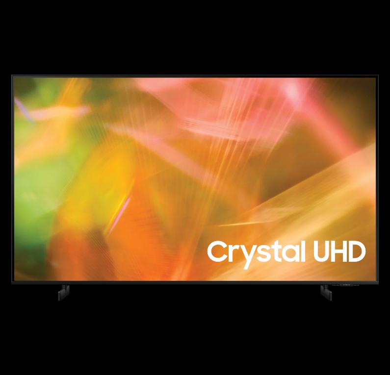 """מסך סמסונג """"75 Crystal UHD דגם 75AU8000"""